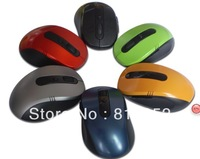 Free shipping mini 2.4G USB Wireless Optical Gaming RF Wireless Mouse Mice for PC Laptop