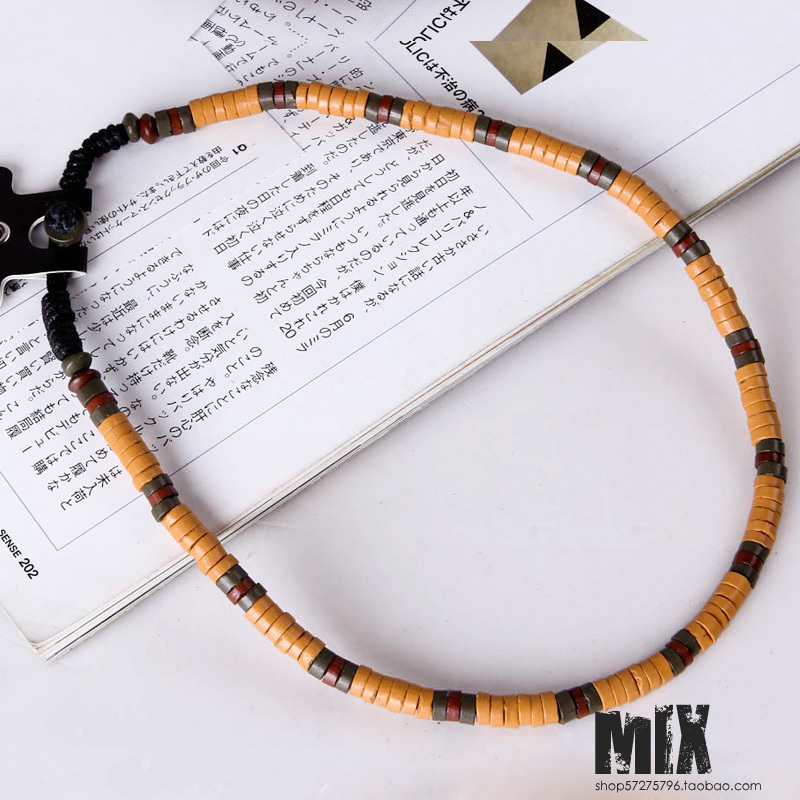 New arrival 2012 necklace fashion fashion ceramic churchwarden beads hangings all-match necklace ps04(China (Mainland))