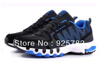 Free shipping summer breathable men's shoes big yards of shoes running shoes