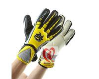 Free shipping Inlang band finger goalkeeper gloves  standard all latex goalkeeper gloves football gloves breathable