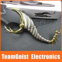 Scorpion Hunter craft knife sword Butterfly Wall K gold gilt tail shape Knife decoration knife (blade not open)  Free Shipping
