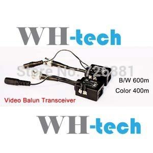 Wholesale - free shipping 3pcs 100% guarantee GOOD QUALITY 600M Active UTP cctv video balun WH-600M(China (Mainland))
