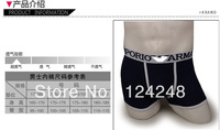 Free shipping 200pcs sexy men briefs factory directly men boxer shorts men's underwear shortts with retail bags