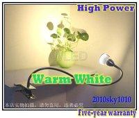 High Quality Warm White LED reading lighting High Power 3*3W Desk lamp LED WALL TUBE LIGHTS LAMPS