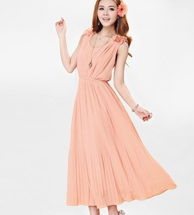 One-piece dress is fashion in Summer.Good quality and confortable feeling.