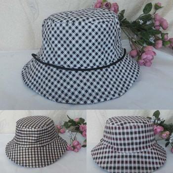 Spring and summer quinquagenarian hat bucket hats fedoras bucket hat women's cap quinquagenarian cap cap sunbonnet