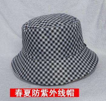 Spring and summer women's bucket hat bucket hats quinquagenarian hat fedoras sunbonnet anti-uv hat