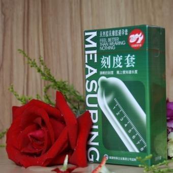 Free shipping Genuine BELLER calibration condom light fragrance condoms for men latex sex suit 10pcs/box sex products