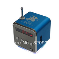 2013 new product Supply Portable Speaker TF card portable mini stereo speaker U dribbling radio display