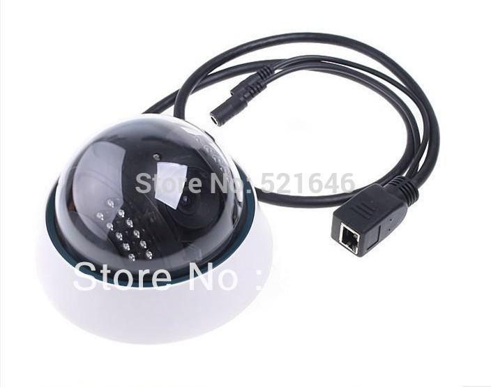 Indoor Wireless Wi-Fi Dome Ceiling IR Night Vision Infrared CCTV Cameras Security Surveillance Network Webcam Internet IP Camera(China (Mainland))
