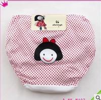 wholesale Children's Underwear Baby Bread Pants Baby Trousers Baby Briefs,girls panties 100% cotton,size 100-160,suitable 2-9y