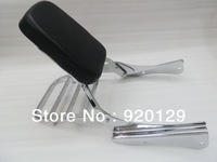 Backrest Sissy Bar Set W/ Luggage Rack for 01-07 Honda Shadow Spirit VT 750 DC ( Russia 20-90 days )