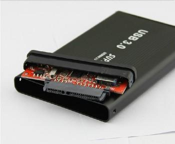 """free shipping 2.5 inch 2.5"""" USB 3.0 HDD Case Hard Drive SATA External Enclosure Box"""