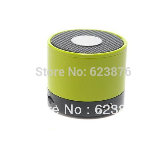 MINI Bluetooth Wireless Portable Speaker Loud speaker with mic for Cell Phone SAMSUNG iphone 5 4/4s,ipod,ipad1,2&mini(SB105)(China (Mainland))