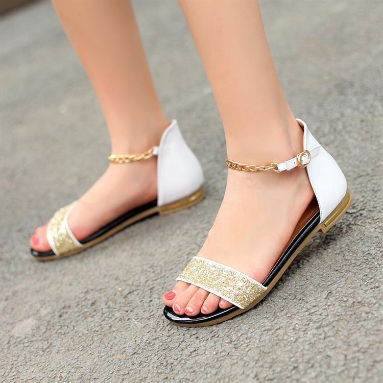 Fantastic Breckelles Sunny03 Orange Women Flat Sandals  Oeebe