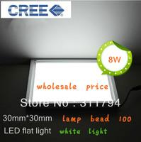 12w 10w 8W Led Ceiling Light Warm White /White Led Light AC85-265V Led Square Panel Light Panel lights