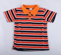 Free fashion 1pcs New Style Children polo shirt Children's Stripe Short Sleeve T-shirt Baby Boys Lapel t-shirts hot baby gift
