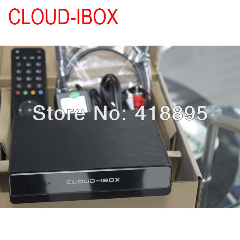 Cloud ibox dvb-s2 iptv Mini Vu+Solo streaming channels satellite receiver (Cloud I-box)(China (Mainland))