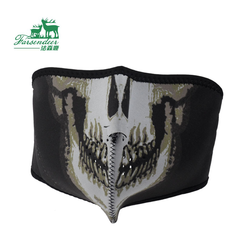 Outdoor face mask skull protective mask windproof cs small(China (Mainland))