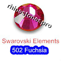 ss16 GENUINE Swarovski Elements Fuchsia ( 502 ) 144 ( NO hotfix Rhinestone ) Crystal Clear Glass 16ss 2058 FLATBACK Wholesale(Hong Kong)