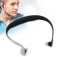 White Sports Bluetooth Stereo Headset For Samsung Galaxy Note i9220 GT-N7000