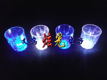 Flash shot glass led luminous cup neon cup toy