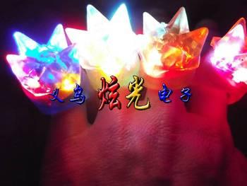 Soft plastic flash ring light ring ktv christmas gifts
