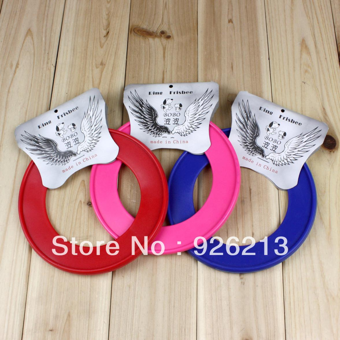 Pet supplies outdoor training toy pet plastic soft frisbee free shipping 6pcs/lot(China (Mainland))