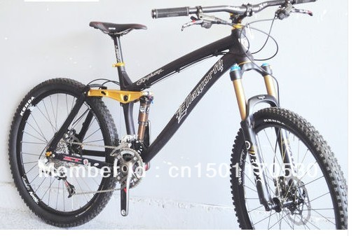 "Ellsworth Epiphany 18"" Black Gold 2012 Mountain Bike Sram XX **SHOW BIKE** NEW(China (Mainland))"