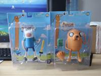 "6"" New Arrival Retail Adventure Time Finn & Jake PVC  Doll * PLUMP JAKE Toy Free Shipping"