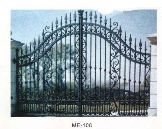 cerca de jardim ferro:Garden Gate Designs Metal