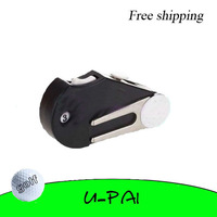 Free Shipping! 5-in-1 Pocket Golf Divot Tool /Groove Cleaner/Brush/ Ball Marker/Score Counter hot