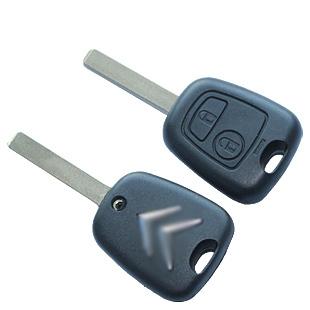 Car Citroen triumph c2c5 remote control key bombards shell citroen remote control key straight shell