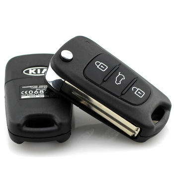 Car Kia k5 key car folding remote control key replace shell