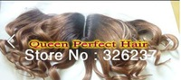 New Arrival ! Fashion wholesale Two tone #2/#8 lace closure Free bleached knots Fast delivery