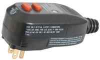 Free Shipping NANDAO brand GFCI leakage protection plugs 15A120v type NA15 3P plug