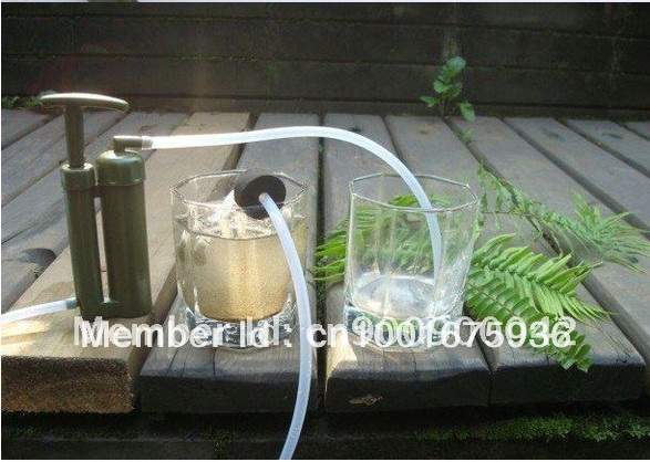 Direct Drinking /soldier water purifier for Army/Hot/Fashion/0.1micro/remove all bacteria/90G(China (Mainland))
