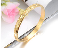 Wholesale 18K Gold Plated Jewelry, Bridal  Bangles KH765 Small