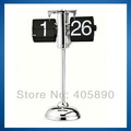 20pcs/lot Rod Balance Flip Clock Retro Fashion Art Desk Clock 32cm to 65cm Tall