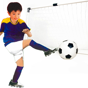 Child football door training set toy football net to nail inflationists(China (Mainland))