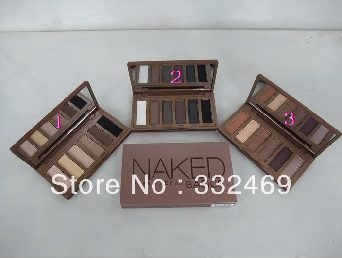 2013 new hot ND BASICS EYESHADOW/EYE sex SHADOW palette (3pcs) 3 color!(China (Mainland))