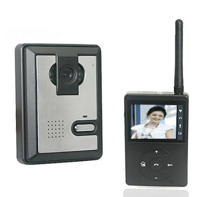 Newest Price Portable Home Wireless Night Vision Video DoorPhone Intercom Receiver + Free Shipping(China (Mainland))