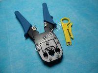RJ45 RJ11 RJ12 Wire Cable Crimper Crimp PC Network Tool, Free Shipping