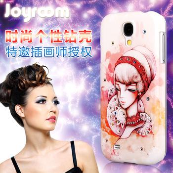 Joyroom  for SAMSUNG   i9500 phone case mobile phone case i9508 s4 shell rhinestone