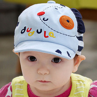 Princess gzmm spring and summer baby cotton cloth cap baby hat child cap a3013