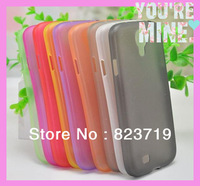 High Qulity Ultra thin 0.3mm TPU matte crystal Soft case back cover for Samsung Galaxy S4 I9500  200PCS/lot dhl free shipping