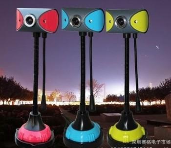 Digital USB LED Webcam with Mic Digital Camera usb webcam New Free Drive High Definition PC Camera Free Shipping