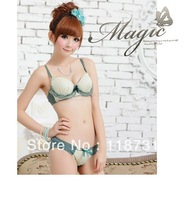 New Women Bra Set! New Arrival! Top Quality! Dot Style Underwear(bra and panty)