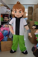 New Adult Suit Size BEN 10 MASCOT COSTUMES Cartoon FANCY DRESS EMS free shipping
