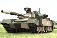 T-90 t-90 main battle tank 3d diy handmade